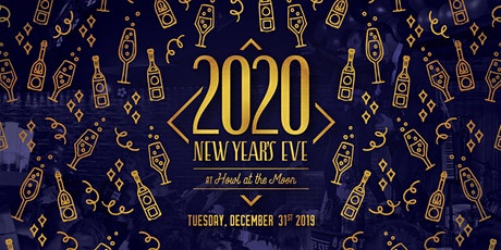New Year's Eve 2020 at Howl at the Moon San Antonio! tickets