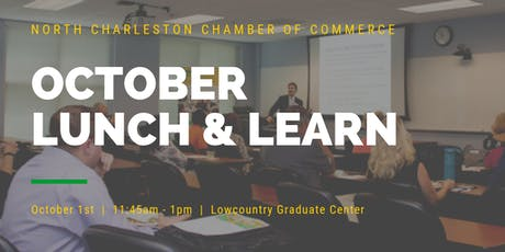 October Lunch & Learn Sponsored by Palmetto Commercial Properties tickets