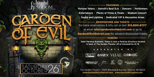 Haunted Kingdom presents Garden of Evil