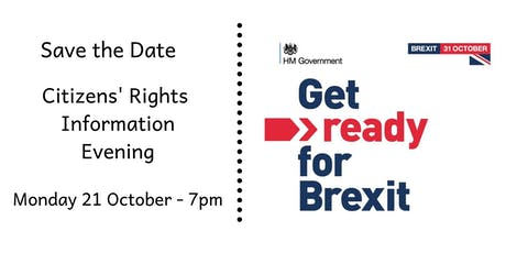 Citizens' Rights Information Evening tickets
