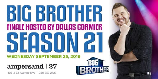 Big Brother Season 21 Finale Viewing Party @Ampersand27