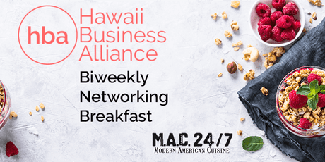 HBA - Biweekly Networking Breakfast tickets