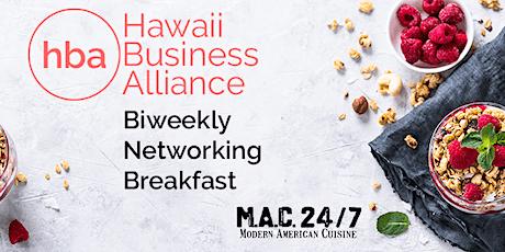 HBA - Biweekly Networking Breakfast tickets