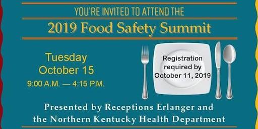 2019 Food Safety Summit - Northern Kentucky Health Department