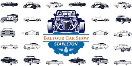 Balfour Car Show tickets