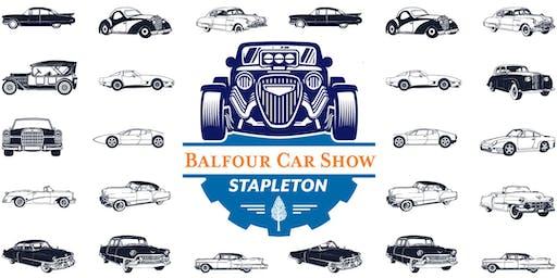 Balfour Car Show