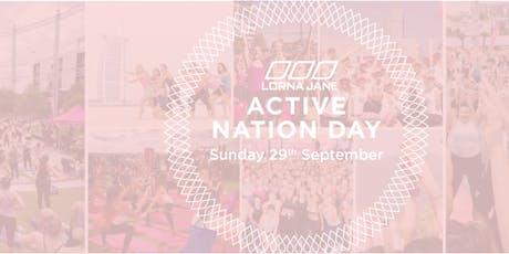 Lorna Jane Active Nation Day- B-Board Yoga tickets