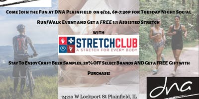 StretchClub ~DNA Active Lifestyle Outfitters in Plainfield 9/24, 6p-7:30p
