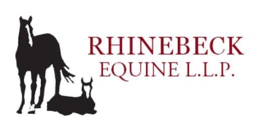 Rhinebeck Equine Referring Veterinarian Appreciation Dinner & CE