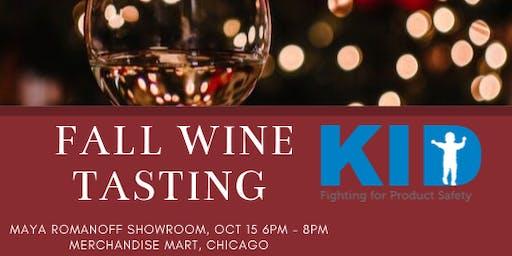 KID's Annual Fall Wine Tasting