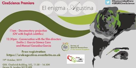 El Enigma Agustina tickets