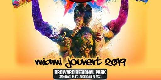 Miami Jouvert (Miami Carnival Weekend) - Carnival Crashers  w/ Break Awae Camo Jouvert Band