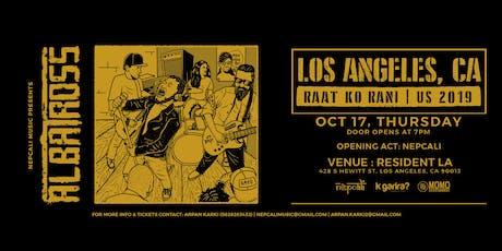 Albatross - Raat Ko Rani Tour US 2019 tickets