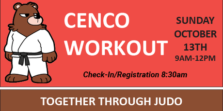 CENCO Workout for October tickets