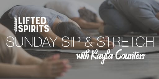Sip & Stretch with Kayla Countess