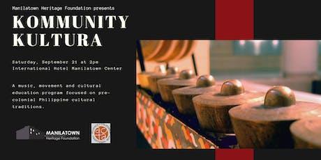 Kommunity Kultura presents Singkil! tickets