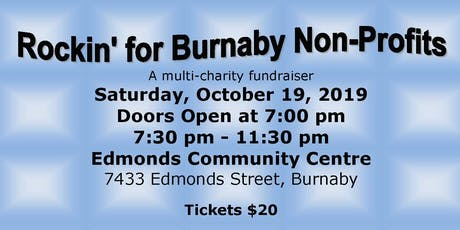 Rockin for Burnaby Non-Profits tickets