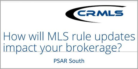 MLS rule updates could impact your brokerage! Find out how! (Broker Only) tickets
