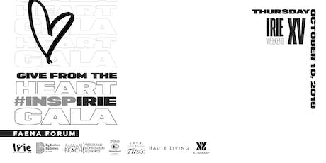 Give from the Heart #InspIRIE Gala | Irie Weekend XV tickets