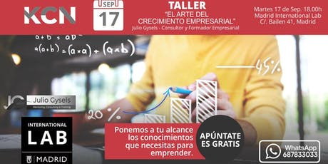 Taller -  El Arte del Crecimiento Empresarial tickets