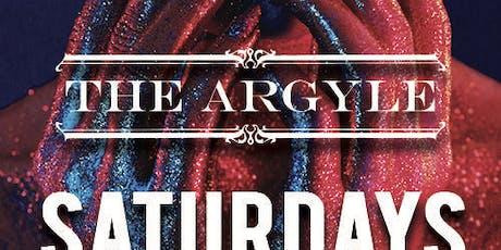 Argyle Saturdays W/ DJ MARK DA SPOT at The Argyle Free Guestlist - 9/14/2019 tickets