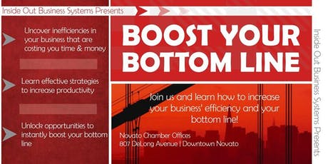 Boost Your Bottom Line tickets