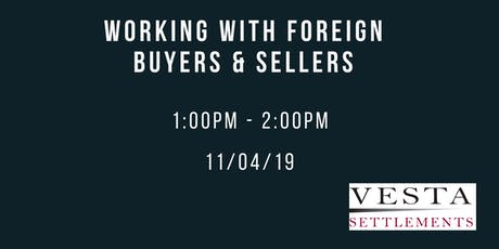 Working With Foreign Buyers and Sellers tickets