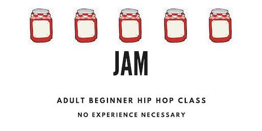 JAM -adult beginner hip hop class