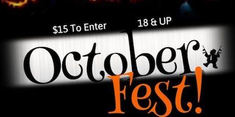 October Fest tickets