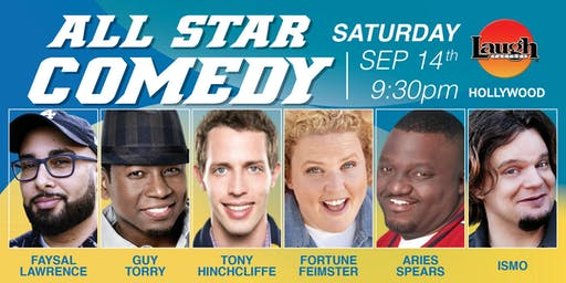 Aries Spears, Fortune Feimster, and more - Special Event: All-Star Comedy!
