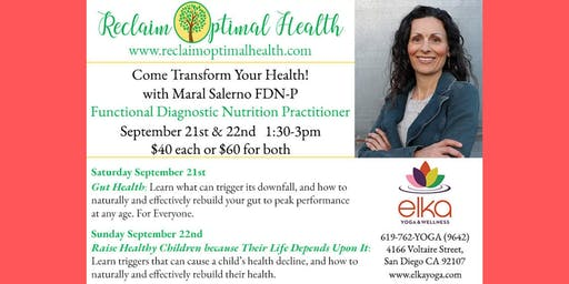 Gut Health Workshop with Maral Selerno (1/2)