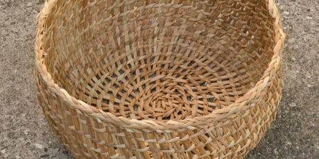 Open-Weave Twined Rush Basket Workshop with Charlie Kennard tickets