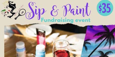 Sip & Paint with The Starz Fundraiser Event