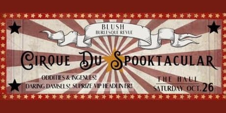 Cirque Du Spooktackular tickets