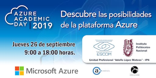 Azure Academic Day 2019 -