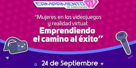 Mujeres en los videojuegos y realidad virtual boletos