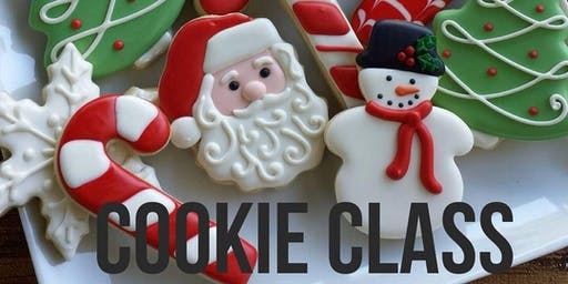 Christmas cookie extravaganza class