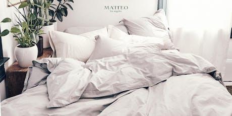 Matteo LA Sample Sale tickets