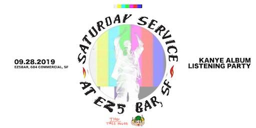 SATURDAY SERVICE