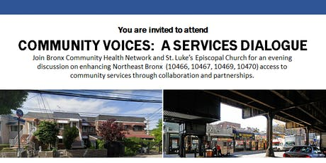 Community Voices: A Services Dialogue tickets