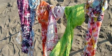 Shibori Dyed Silk Scarves tickets
