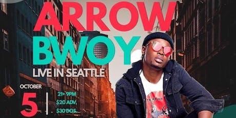 Arrow Bwoy Live in Seattle tickets