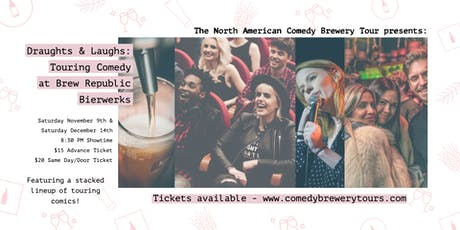 Draughts & Laughs: Touring Comedy at Brew Republic Bierwerks