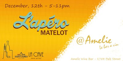 L'Apero Matelot @ Amelie Wine Bar - Join us and rock the bar!