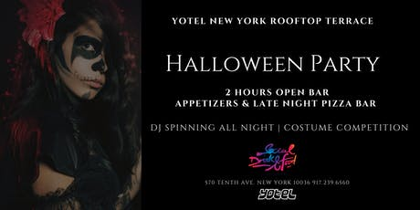 Rooftop Halloween Party tickets