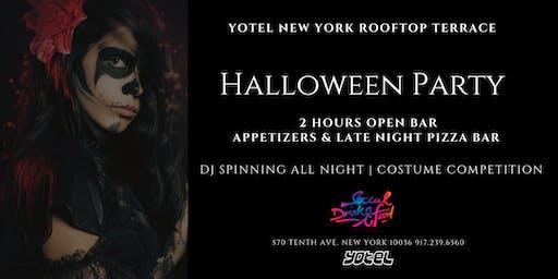 Rooftop Halloween Party