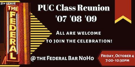 PUC CALS ECHS & PUC CCECHS Class Reunion '07-'09  tickets