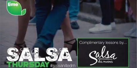 Salsa Night! (Dance Lessons + DJ Xan) tickets