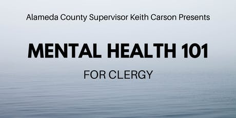 Mental Health 101 for Clergy tickets