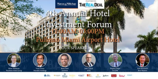 4th Annual Hotel Investment Forum - Presented by Kabani Hotel Group
